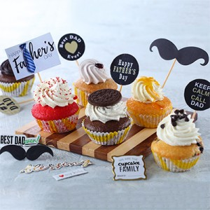 Fathers Day Special Cup Cakes (Box Of 4)