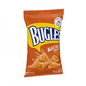 Bugles Nacho Cheese Corn Snacks (212gms)
