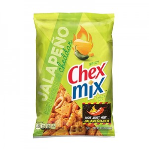 Chex Mix Jalapeno Cheddar Snack Mix ((with Pretzels) (250gms)