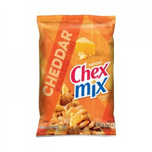 Chex Mix Savoury Cheddar Snack Mix (with Pretzels) (250gms)