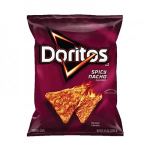 Doritos Spicy Nacho Flavored Tortilla Chips (198 gms)