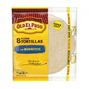 Old EL Paso Flour Tortillas for Burriots (Made in USA) (311gms)