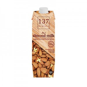 137 Degrees Almond Milk (made in USA) (1000ml)