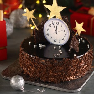 Chocolate Surprise New Year's Special Cake (500gms)