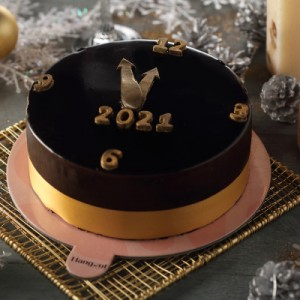 Dutch Truffle New Year's Special Cake (500gms)