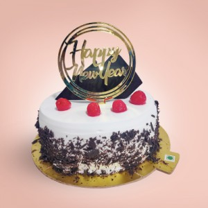 New Year Special Black Forest Cake (500gms)
