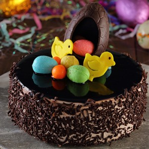 Easter Special Chocolate Surprise Cake (1/2kg)