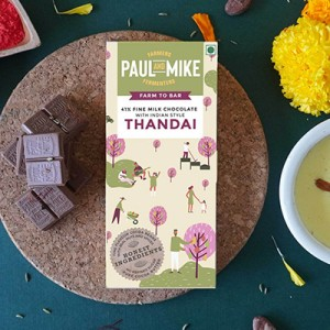 Thandai flavoured Paul and Mike Chocolate