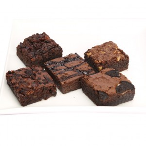 5 in a Pack Assorted Brownies
