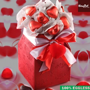 Red Heart Chocolate Bouquet